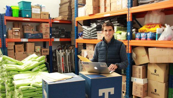 Tandem, portal creado en México, ofrece los servicios de compras online para empresas locales.