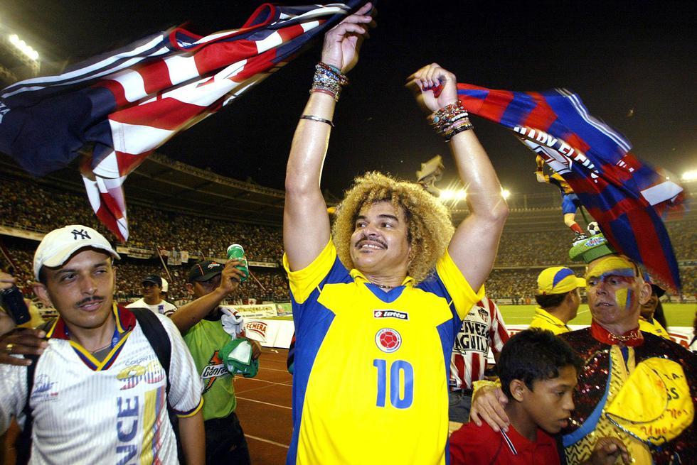 Carlos 'Pibe' Valderrama, Colombia. | Foto: AFP