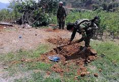 Vraem: hallan 433 kilos de cocaína enterrados en operativo en conjunto