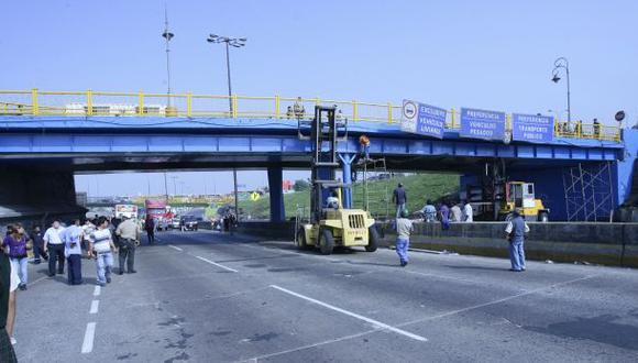 Vía de Evitamiento: desviarán tránsito por retiro de puentes