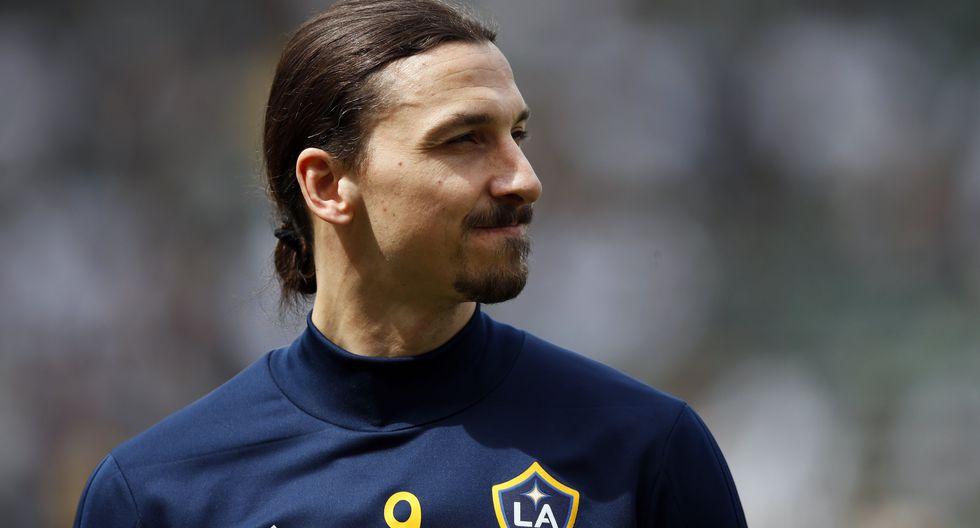 Zlatan Ibrahimovic puso en duda su continuidad en la MLS | Foto: AP