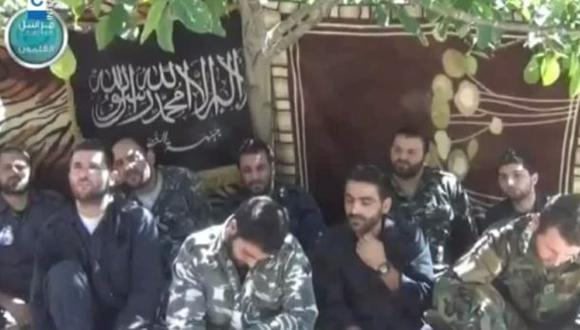 Rama siria de Al Qaeda mostró a sus rehenes extranjeros (VIDEO)