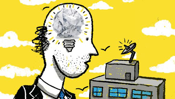 Primer Índice de Madurez de la Innovación muestra que las firmas peruanas deben avanzar en sus capacidades para innovar y lograr resultados. (Ilustración: Giovanni Tazza/El Comercio)