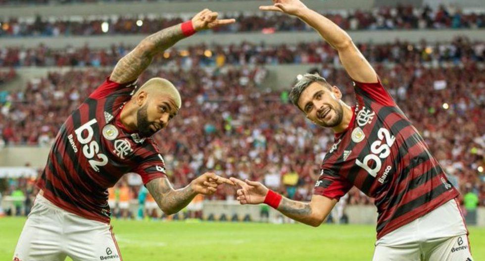 Flamengo disputará su segunda final en la historia. La primera fue en 1981 y se coronó campeón de América. (Foto: AFP)