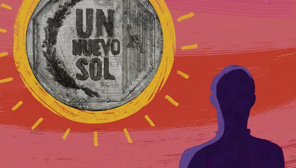 """""""Cada sol del Estado debe ser reconocido como un sol que ya no gastará una empresa o una familia en su propio consumo"""". (Ilustración: Giovanni Tazza)."""