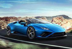 Lamborghini presenta al nuevo Huracan EVO Spyder RWD en medio de la cuarentena   FOTOS