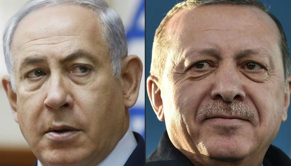 """Erdogan acusa a Netanyahu de ser y dirigir un estado """"terrorista"""" por masacre en Gaza. (Foto: AFP)"""