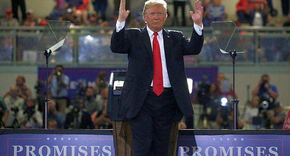 """""""Tenemos una tremenda capacidad de castigo que no queremos usar"""" sostuvo Trump. (Foto: Reuters)"""