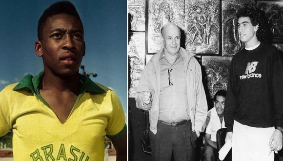 En Pelé, el nuevo documental de Netflix, aparecen algunas referencias el fútbol peruano. FOTOS: Netflix / Archivo Histórico El Comercio.