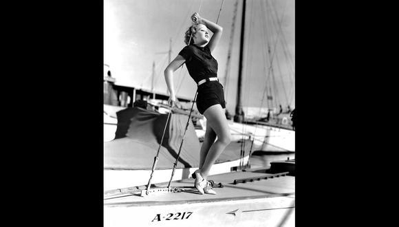 Ida Lupino en una imagen cercana a 1935, cuando la actriz y directora británica había sido contratada por la Paramount. [Foto: Getty Images]