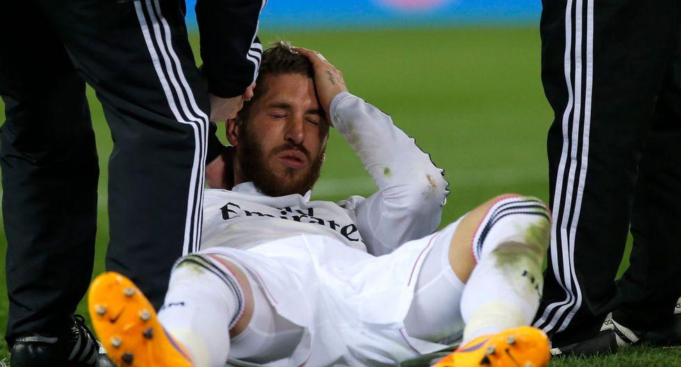Mandzukic, herido: un codazo de Sergio Ramos le abrió la ceja  - 7