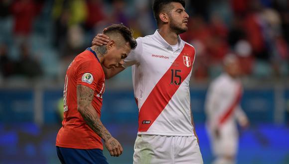 Carlos Zambrano disputó los partidos de la selección peruana en la Copa América Brasil 2019. (Foto: AFP)