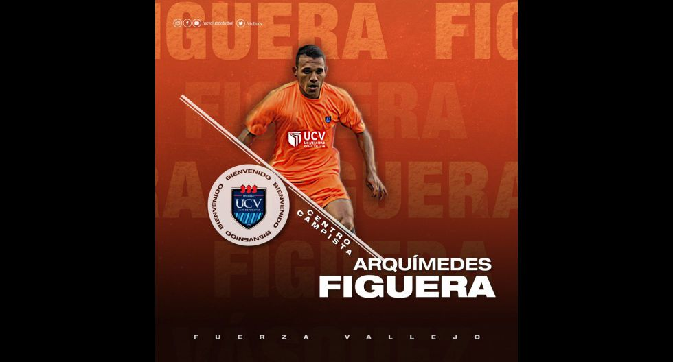 Arquímedes Figuera procedente de Deportivo La Guaira de Venezuela. (Foto: Twitter)