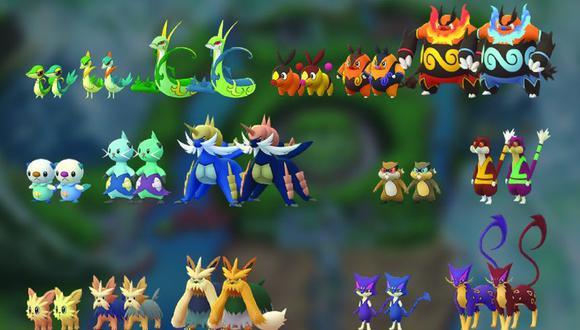 La quinta generación llegará a Pokémon GO en pocos días. (Foto: Twitter)