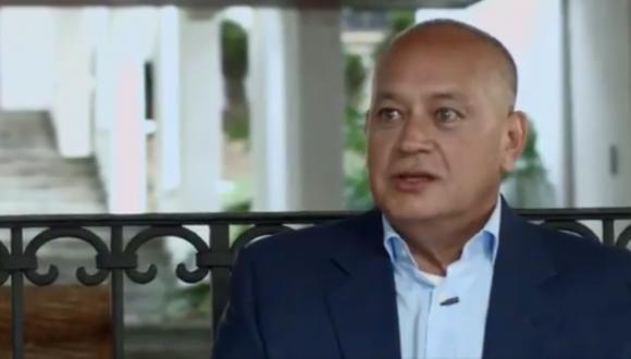 Diosdado Cabello también señaló que creía haberse contagiado a través de un escolta y que era responsable del contagio del vicepresidente económico, Tareck El Aissami, que también ha superado ya la enfermedad. (Foto: El Nacional, vía GDA).