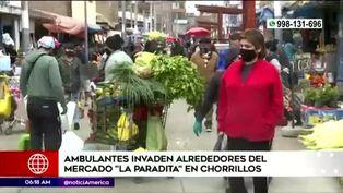 Chorrillos: vendedores ambulantes invaden mercado