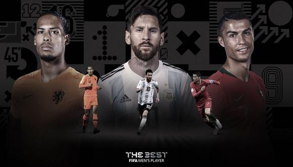 Los mismos tres finalistas al mejor jugador de la UEFA compiten por el FIFA The Best. (Foto: Fifa.com)