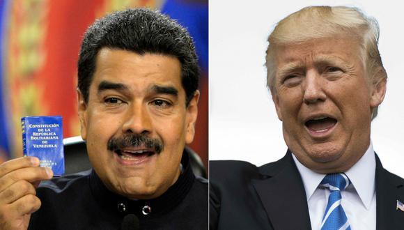 """Venezuela: Estados Unidos dice que usará toda herramienta para acabar con la """"dictadura"""" de Nicolás Maduro. (AFP)."""