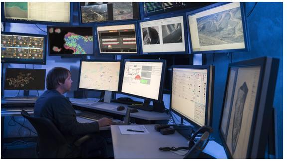 La digitalización permite hoy que muchas operaciones mineras se puedan ejecutar remotamente a decenas o cientos de kilómetros de distancia de las minas (Foto: Teck).