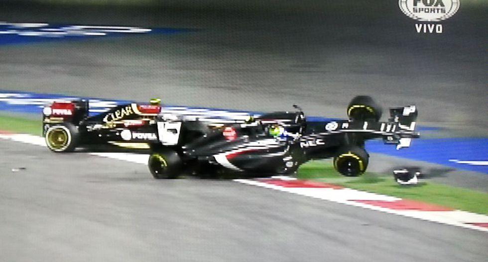 F1: la espeluznante volcadura de Gutiérrez en el GP de Bahréin  - 14