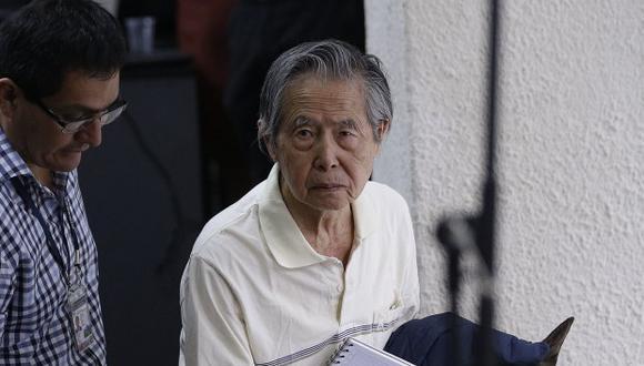 Alberto Fujimori viene cumpliendo una condena por violación a los derechos humanos. El indulto que le otorgó Pedro Pablo Kuczynski fue anulado por el Poder Judicial en el 2018. (Foto: GEC)