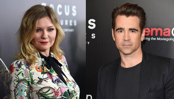 Kirsten Dunst no soportó grabar escenas sexuales con Farrell