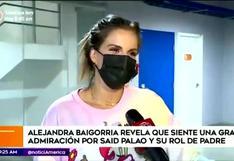 Alejandra Baigorria y su buena relación con la hija de Said Palao