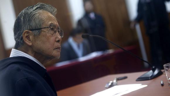Alberto Fujimori recibió el indulto humanitario de parte del presidente Kuczynski el 24 de diciembre del 2017. (Foto: Archivo El Comercio)
