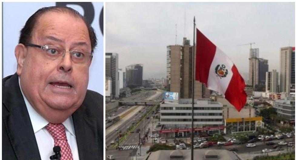 Julio Velarde destacó que la economía peruana crecería 4,9% en el cuarto trimestre del año.