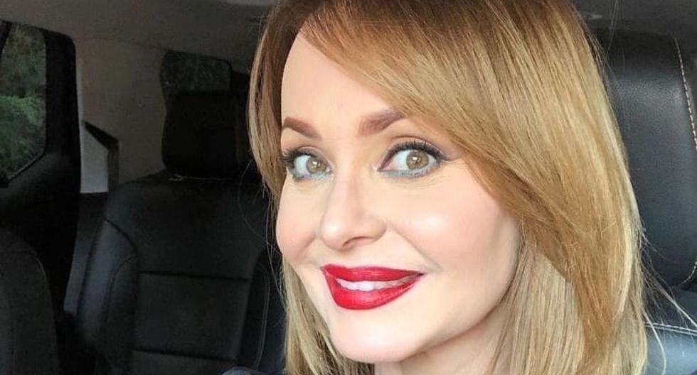 """La actriz venezolana Gabriela Spanic compartió una foto de su calendario 2019, en la que posó desnuda, para promover el regreso de """"La Usurpadora""""  (Foto: Instagram)"""