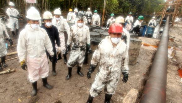En total, se derramaron 4.418 barriles de crudo en los derrames de Chiriaco y Morona. (Foto: Alessandro Currarino / El Comercio)