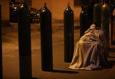 Callao: continúan las largas colas de personas para adquirir oxígeno medicinal desde la madrugada | FOTOS