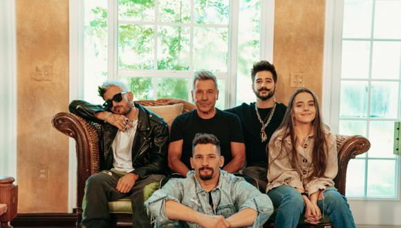 """Ricardo Montaner estrenó junto a su familia """"Amén"""". (Foto: @montaner)"""