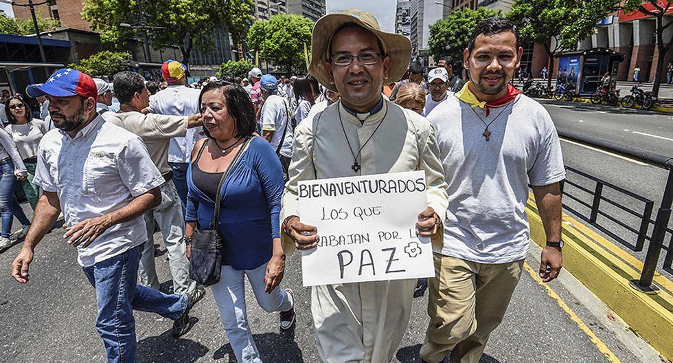 """Venezuela: El """"plantón"""" en protesta contra Nicolás Maduro - 13"""