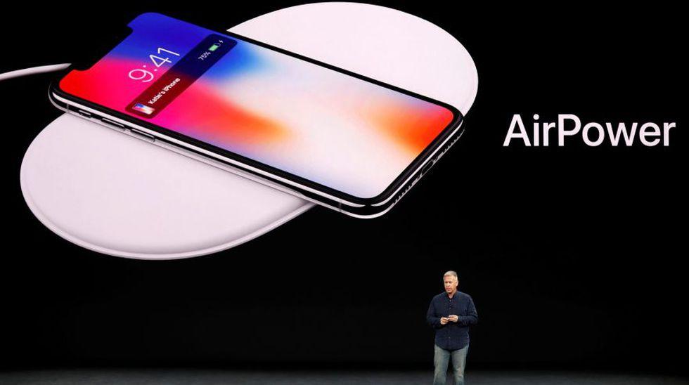 Philip Schiller, vicepresidente senior de marketing de Apple, presentó el cargador AirPower en Cupertino, California, en septiembre de 2017. (Foto: Reuters)