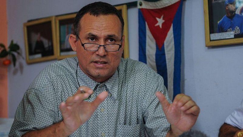 José Daniel Ferrer (imagen de archivo) se recupera de más de 20 días de huelga de hambre en señal de protesta. (Getty Images).
