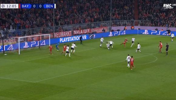 Arjen Robben realizó un asombroso golazo en el Bayern Múnich vs. Benfica, el cual significó la ventaja parcial para los bávaros en la Champions League. (Video: YouTube)