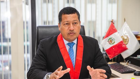 El fiscal coordinador Omar Tello desestimó el pedido al considerar que no cumple con los presupuestos de repercusión nacional. (Foto: GEC)
