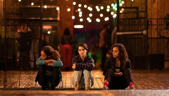 La serie está protagonizada por Brianna Hildebrand, Kiana Madeira y Quintessa Swindell (Foto: Netflix)