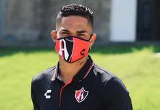 Anderson Santamaría volvió a los entrenamientos este jueves en Atlas