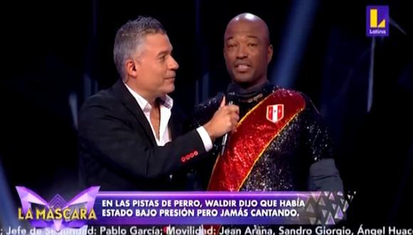Waldir Sáenz fue el primer eliminado del programa. (Foto: Latina)