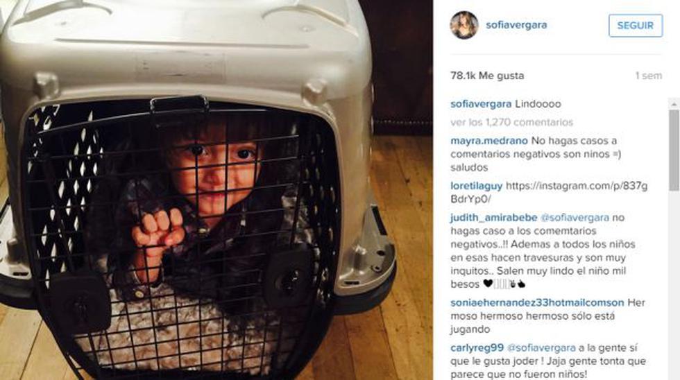 Sofía Vergara no retira polémica foto y es defendida por fans - 2