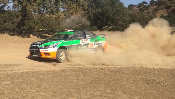 Nicolás Fuchs abandonó en el Rally de Extremadura
