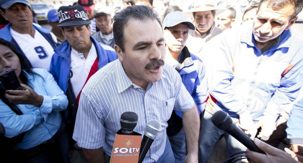 Realizaron protesta para exigir liberación de Gregorio Santos - 2