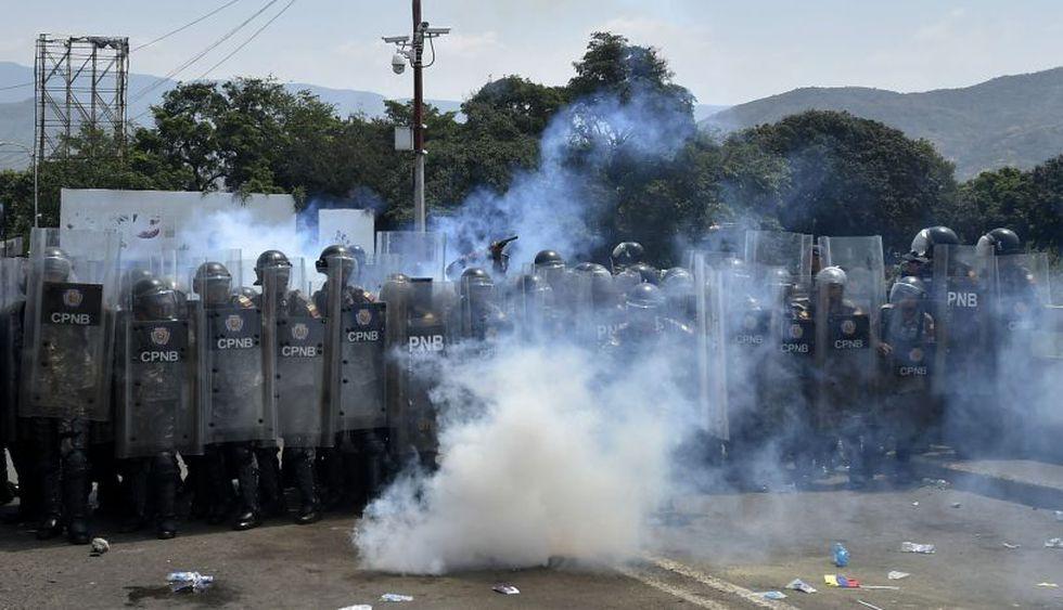 Tensión en las fronteras de Venezuela durante estos últimos días. (Foto: AFP)