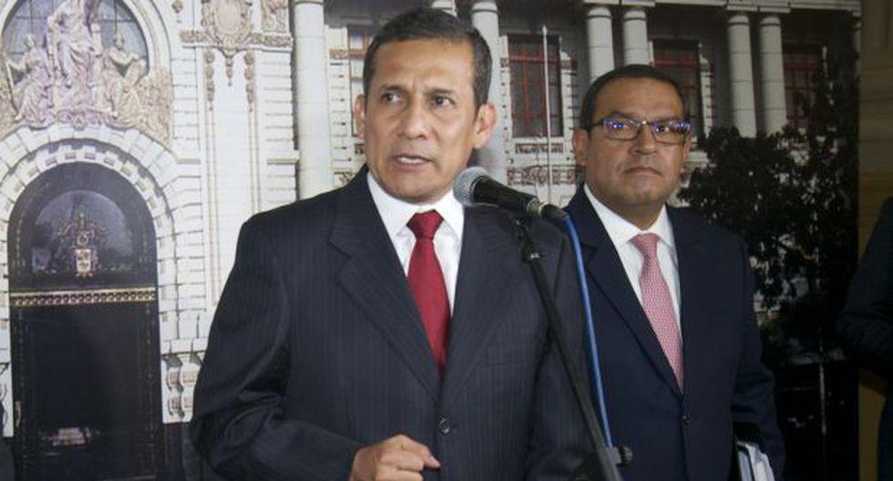 Ollanta Humala recibió a la Comisión de Fiscalización en la Diroes, pero guardó silencio ante preguntas de los congresistas. (Foto: Archivo El Comercio / Video: Canal N)