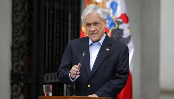 """Un 80% de los encuestados consideró que los anuncios de Sebastián Piñera no """"cumplen con las demandas de la ciudadanía"""" que dieron pie a las protestas en Chile. (AFP / JAVIER TORRES)."""