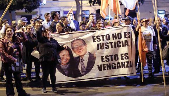 El ex presidente Alberto Fujimori fue traslado la noche del miércoles nuevamente al penal de Barbadillo, ubicado en la Diroes, en Ate. (Foto: Archivo AFP)