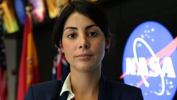 """Diana Trujillo: """"Tú tienes en el corazón lo que quieres hacer, el problema es que a veces uno escucha las opiniones de otras personas"""". (NASA)"""
