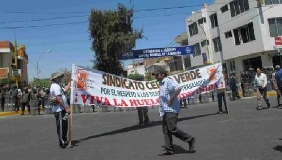 Cobre sube en el mundo impulsado por huelga en Cerro Verde